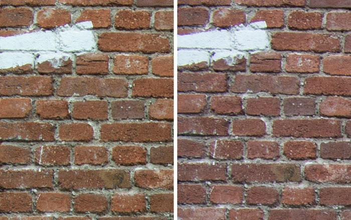 Testvergleich: 2,0/35 mm Zeiss Biogon ZM vs. 2,0/35 mm Zeiss Distagon ZF: Blende 11, Ecke links oben