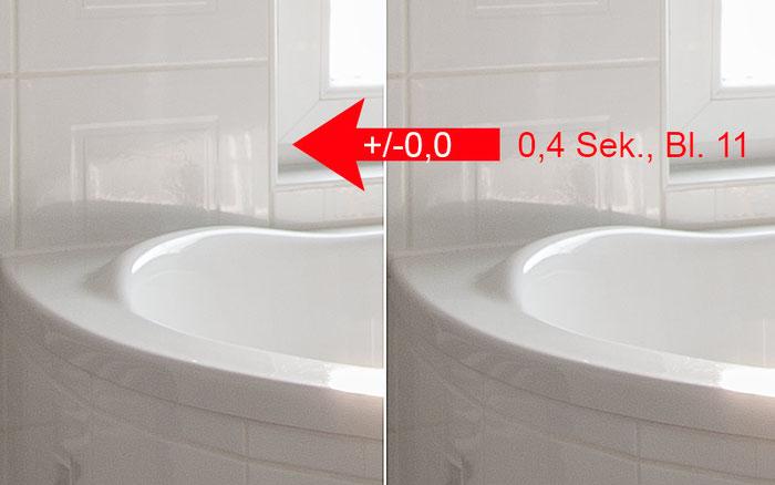 Praxistest Rauschen: Warum ich bei meinen Fotos keinen Rauschfilter brauche. Bildbeispiel 2. Foto: bonnescape