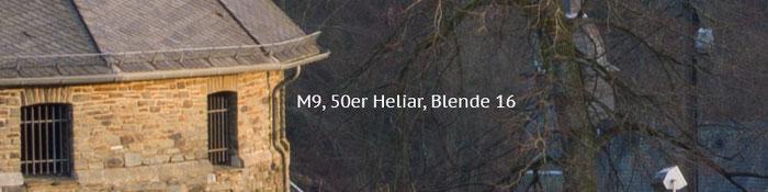 Praxistest Voigtländer Heliar 3,5/50 mm VM, Testmotiv Burg, 100%-Crop bei Blende 16, Foto: Klaus Schörner