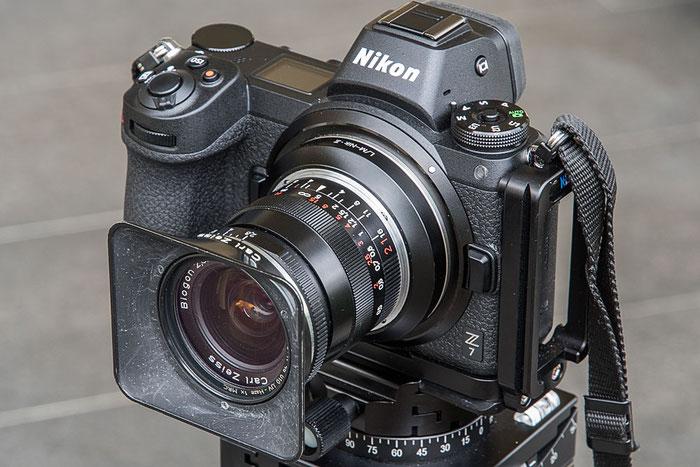 Praxistest ZEISS Biogon ZM 21 mm 1: 2,8 Objektiv an der NIKON Z7 Z6, Ocamo-Adapterring. Foto bonnescape.de