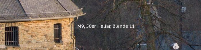 Praxistest Voigtländer Heliar 3,5/50 mm VM, Testmotiv Burg, 100%-Crop bei Blende 11, Foto: Klaus Schörner