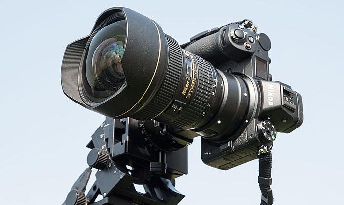 NIKON Z 7 mit FTZ-Adapter und AF-S 14-24 mm 1:2,8G ED, Foto: bonnescape.de