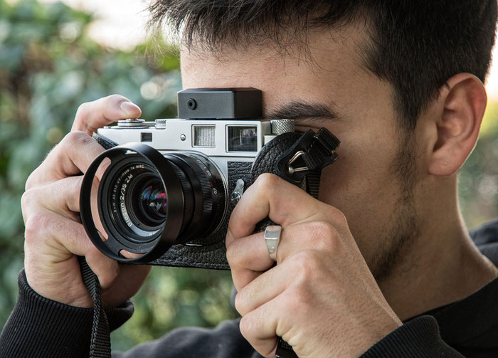 Aufsteck-Belichtungsmesser im Test: KEKS EM01, Fotografieren mit einer Leica M2. Foto: bonnescape