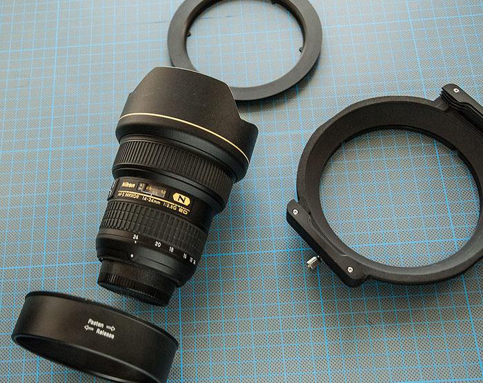 Praxistest: HAIDA 150 Filter, Komponenten für das AF-S NIKKOR 14–24 mm 1:2,8G ED. Foto: bonnescape