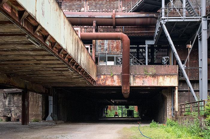 Praxistest NIKON D850, AF-S 28-70, 1:2,8, Industriegebäude, Landschaftspark Duisburg. Foto: bonnescape