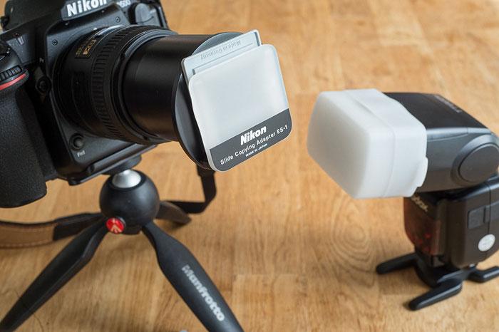 Praxisbericht Dias digitalisieren mit Micro-Nikkor und ES-1. Foto bonnescape.de