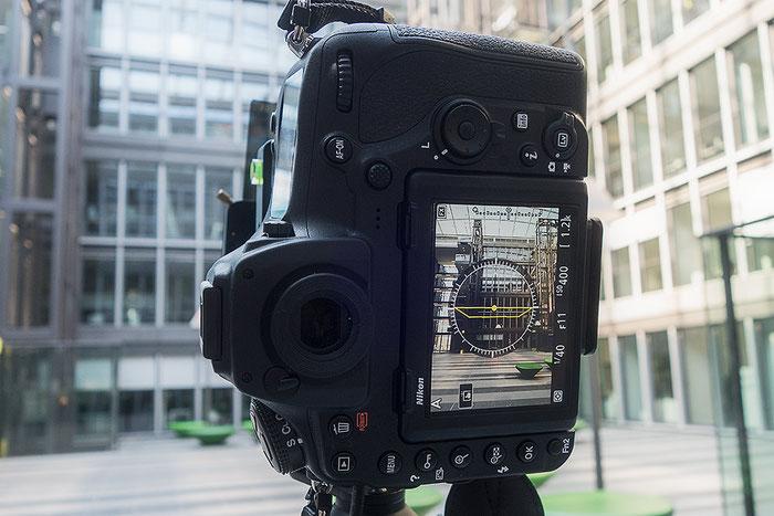 Praxistest NIKON D850 mit PC-E 24 mm 1: 3,5 mit JUMBO MBS Plus. 3 Belichtungen im Hochformat. Foto: bonnescape