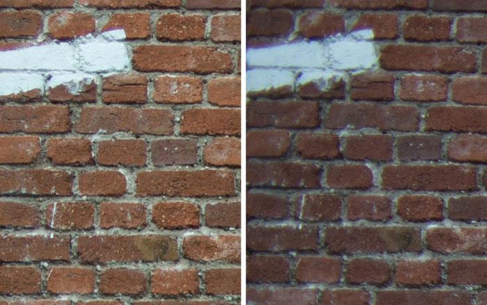 Testvergleich: 2,0/35 mm Zeiss Biogon ZM vs. 2,0/35 mm Zeiss Distagon ZF: Blende 2,8, Ecke links oben