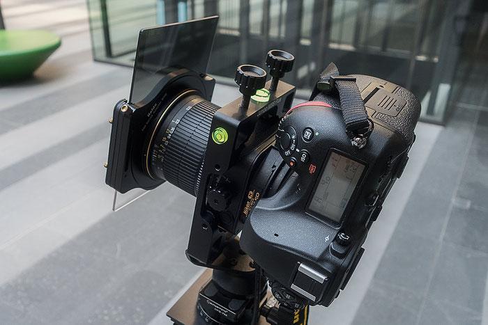 Praxistest NIKON D850 mit PC-E 24 mm 1: 3,5 mit JUMBO MBS Plus und HAIDA Filterhalter und Verlaufsfilter. Ausrichtung im Hochformat. Foto: bonnescape
