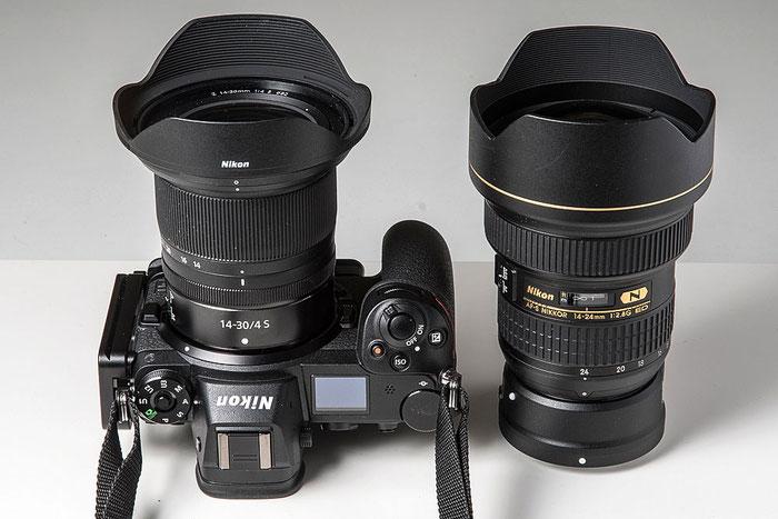 Praxistest NIKON Z7 mit AF-S 14-24 mm 1:2,8 G ED vs. Z 14-30 mm 1:4 S. Foto: bonnescape.de