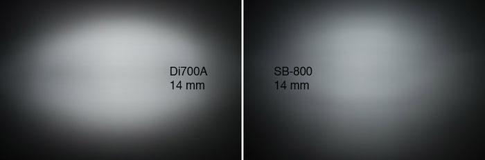 Im Praxistest: NISSIN Di700A und Air 1 Commander, Lichtverteilung bei 14 mm. Foto: bonnescape.de