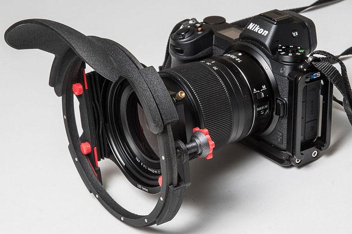 NIKON Z7 mit Z 14-30 mm 1:4 S, HAIDA Filterhalter 100 und Filterprotector. Foto: bonnescape.de