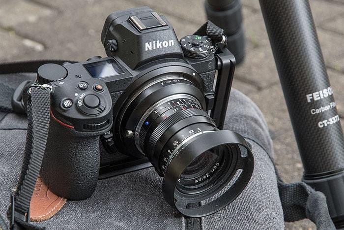 Praxistest ZEISS Biogon ZM 35 mm 1: 2,0 Objektiv an der NIKON Z7 Z6, Ocamo-Adapterring. Foto bonnescape.de