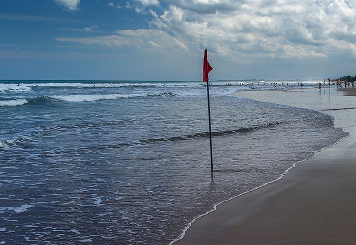 Test: Strandszene Bali mit Verlauffilter ND 0,6, Foto: Dr. Klaus Schoerner