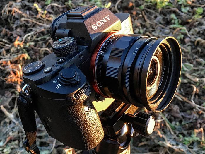 Praxistest: Im Einsatz ist das neue VOIGTLÄNDER 3,5/21mm SKOPAR E auf einer SONY Alpha 7 s II, www.bonnescape.de