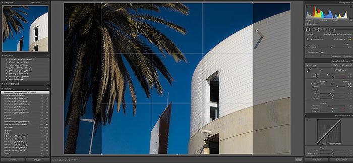 Praxistipp: SONY RX100 I,II,III,IV,V mit quadratischem Bildformat 1:1. Nachbearbeitung mit Lightroom. Foto: bonnescape
