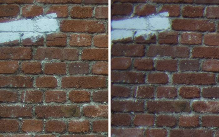 Testvergleich: 2,0/35 mm Zeiss Biogon ZM vs. 2,0/35 mm Zeiss Distagon ZF: Blende 2,0, Ecke links oben