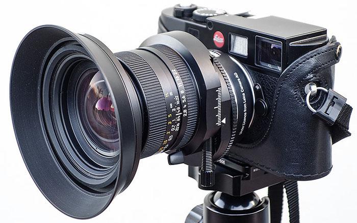 Erfahrungsbericht: PC Super Angulon 2,8/28mm mit Sonnenblende an der Leica M9