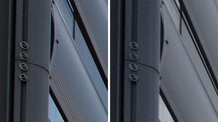 Schärfe-Vergleich Bildecken, NIKON AF-S 14-24 mm 1:2,8 G ED vs. Z 14-30 mm 1:4 S. Foto: bonnescape.de