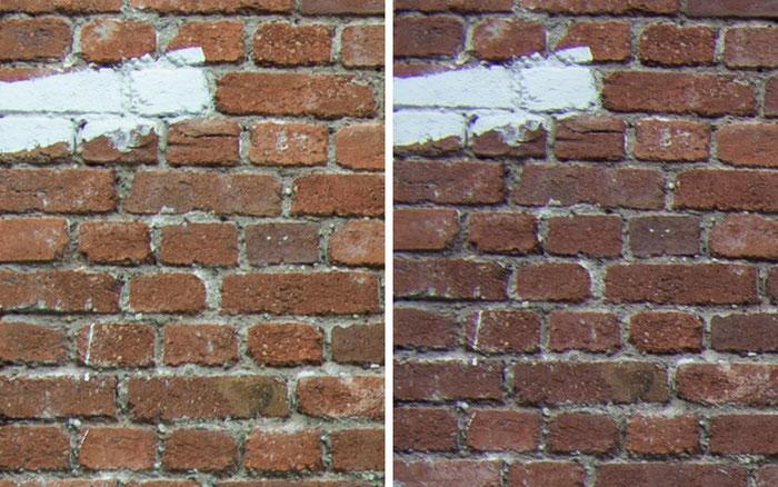 Testvergleich: 2,0/35 mm Zeiss Biogon ZM vs. 2,0/35 mm Zeiss Distagon ZF: Blende 5,6, Ecke links oben