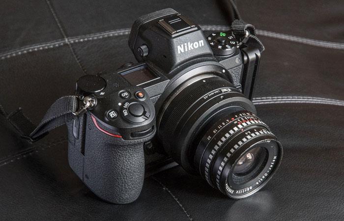 Test mit dem 3.5/30 mm Lydith mit Kiwi-Adapter M42-NZ an der Nikon Z7. Foto: bonnescape