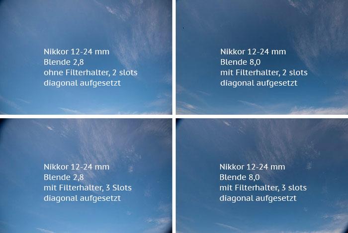 Praxistest Vignettierung:  AF-S NIKKOR 14–24 mm 1:2,8G ED, mit diagonal aufgesetztem Filterhalter HAIDA 150. Foto: bonnescape