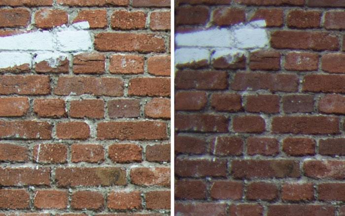Testvergleich: 2,0/35 mm Zeiss Biogon ZM vs. 2,0/35 mm Zeiss Distagon ZF: Blende 4, Ecke links oben