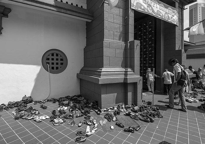 Reisefotografie: Sri Mariamman Temple, Singapore. Nikon D200. Nikkor 16-85 mm. Foto: Dr. Klaus Schoerner