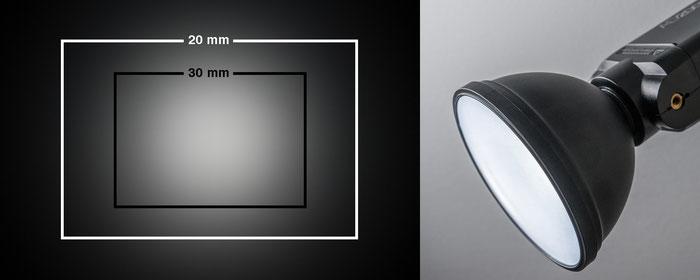 Test Godox AD200Pro, Lichtwirkung mit nackter Blitzröhre und Standardreflektor AD-S2, Foto: bonnescape.de