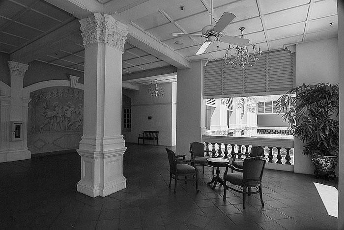 Reisefotografie: Raffles Hotel, Singapore. Nikon D200. Nikkor 16-85 mm. Foto: Dr. Klaus Schoerner