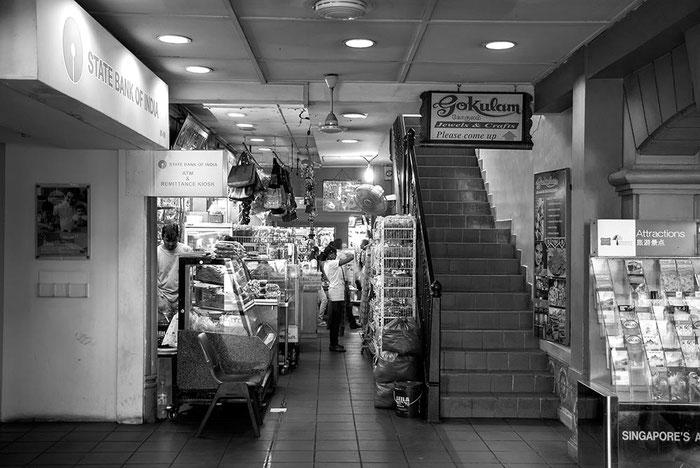 Reisefotografie: Shopping Mall, Singapore. Nikon D200. Nikkor 16-85 mm. Foto: Dr. Klaus Schoerner