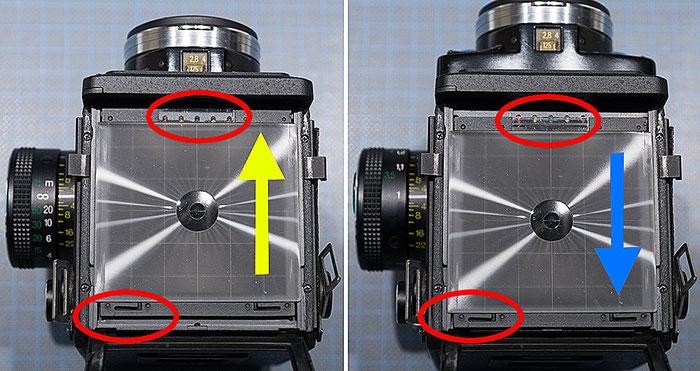 Rolleiflex 2,8 GX im Praxistest, Parallaxausgleich, Foto: bonnescape