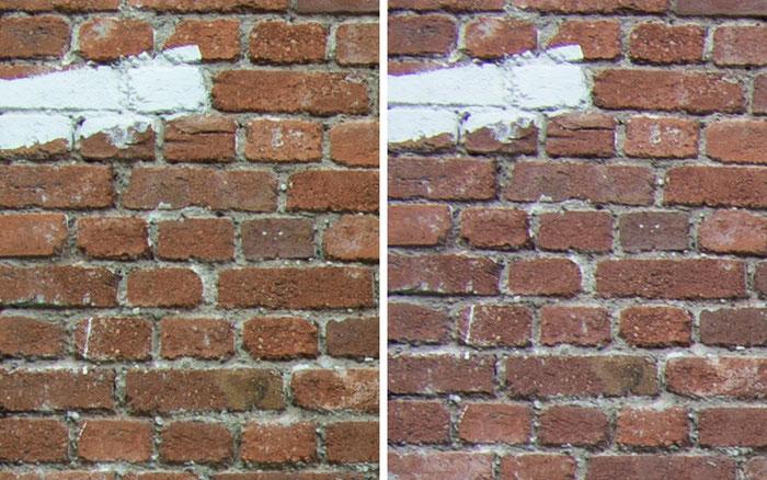 Testvergleich: 2,0/35 mm Zeiss Biogon ZM vs. 2,0/35 mm Zeiss Distagon ZF: Blende 8, Ecke links oben