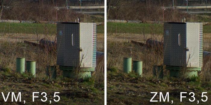 Praxistest: Testfoto Baustelleneinfahrt, VOIGTLÄNDER 3,5/21mm SKOPAR Asphärisch VM versus ZEISS BIOGON 2,8/21 mm ZM, www.bonnescape.de
