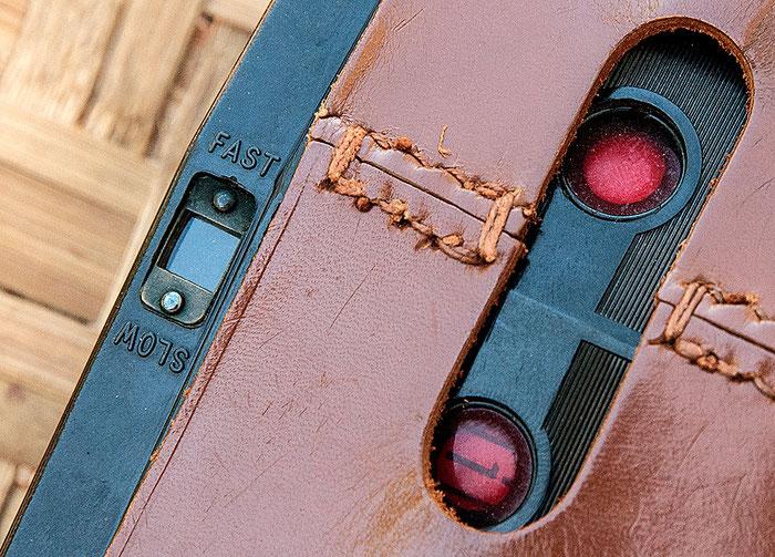 PURMA SPECIAL, FAST-SLOW Beschriftung für die unterschiedlichen Verschlusszeiten. Foto: bonnescape
