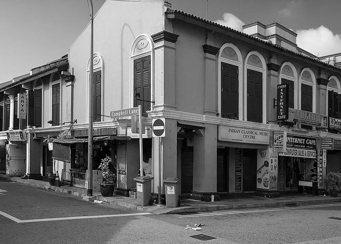 Reisefotografie: Little India, Singapore. Nikon D200. Nikkor 16-85 mm. Foto: Dr. Klaus Schoerner