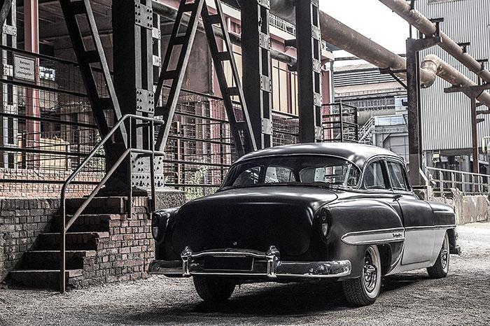 Test HR-Bildeffekt. 1953er Chevrolet Bel Air, Foto: Klaus Schoerner