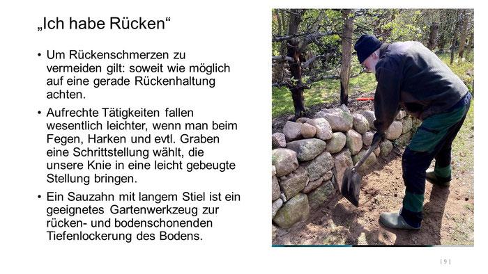 """Foto: Petra Schweim (Appelbarg) - """"Ich habe Rücken"""" - Gartenbotschafter John Langley®"""