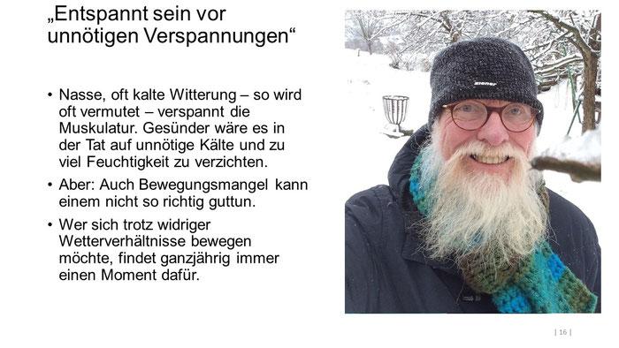 """Foto: Petra Schweim (Appelbarg) - """"Entspannt sein vor unnötigen Verspannungen"""" - Gartenbotschafter John Langley®"""