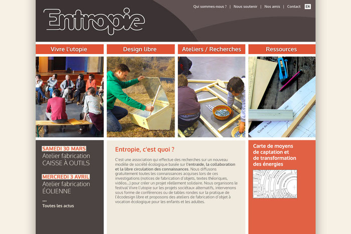 creation design site web