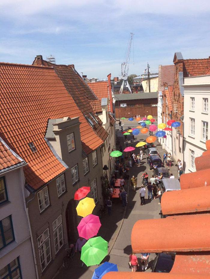Passend zum Thema Verkehr: Hanse Kultur Festival mit autofreier Altstadt Nord, Foto N. Hochgürtel