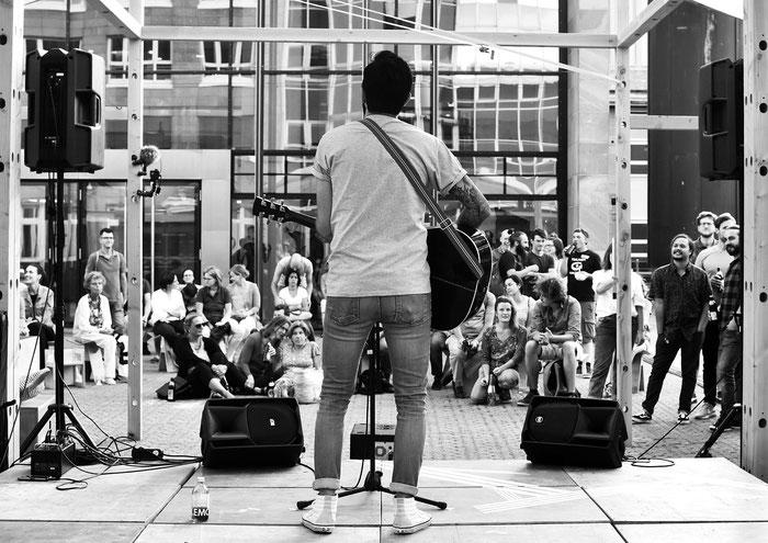 Clarksville Junior bei einem Konzert in Nürnberg, Juli 2019 | Foto: (c) Sarah Weinberg