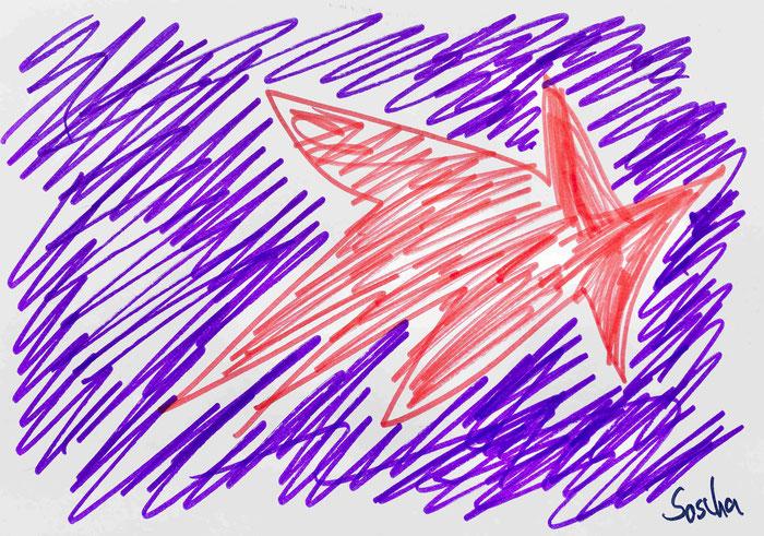 """Zeichnung von Sascha - """"Paroli"""""""