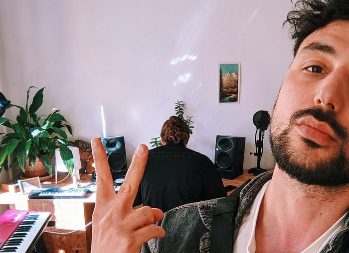 GIARDINI NAXOS im Studio mit 7kcalls