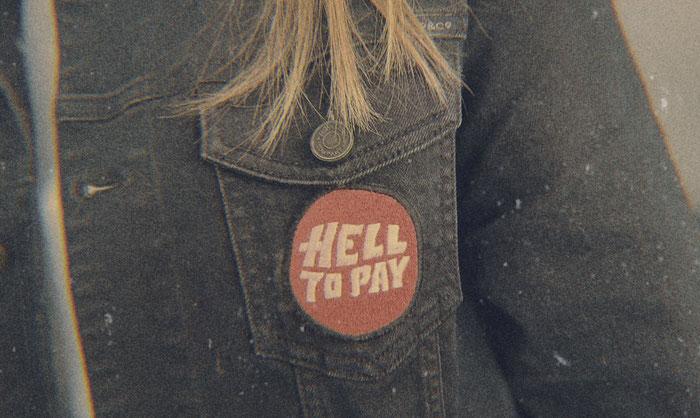 """Cover zur Single """"Hell To Pay"""" von Clarksville Junior"""