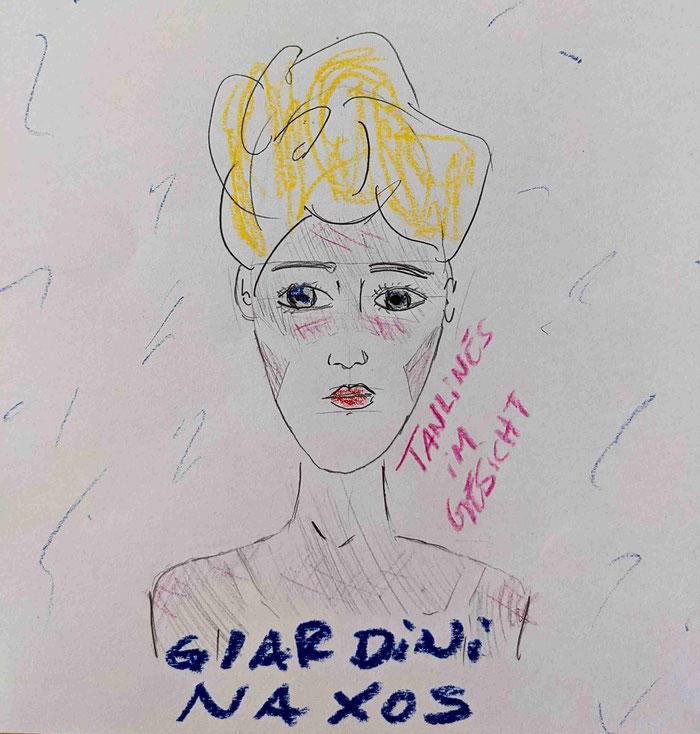 Zeichnung von GIARDINI NAXOS