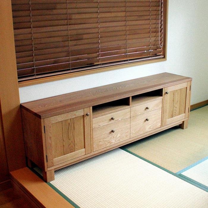 和室に置くローボード(厚木市・K様邸)