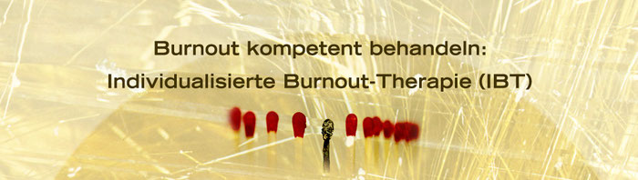 Burnout kompetent behandeln: Individualisierte Burnout-Therapie (IBT), Seminare