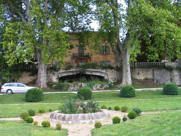 Bild: Château la Canorgue, Bonnieux