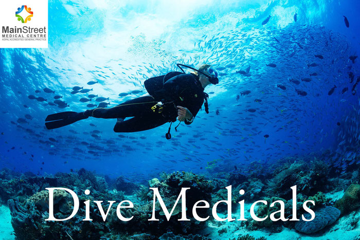 Recreational dive medical Hervey Bay Queensland